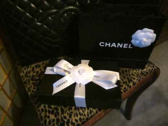 Chanel ribbon too!