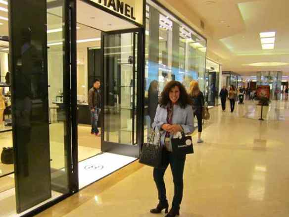 Chanel south coast plaza