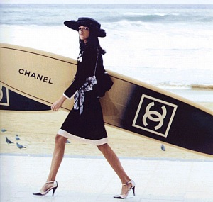 Chanel surfboards