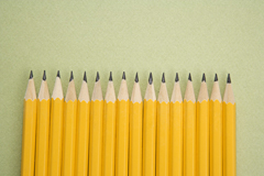 Pencils-lined-up