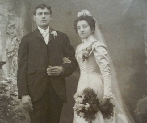 vintage weddingpic