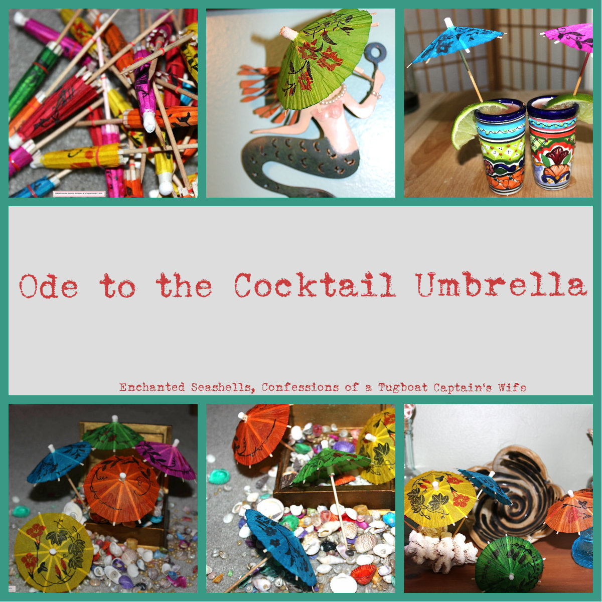 Umbrella Collage
