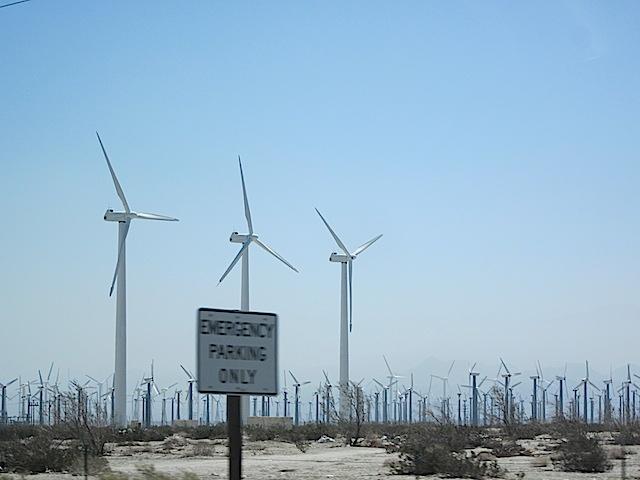 windmills palm springs