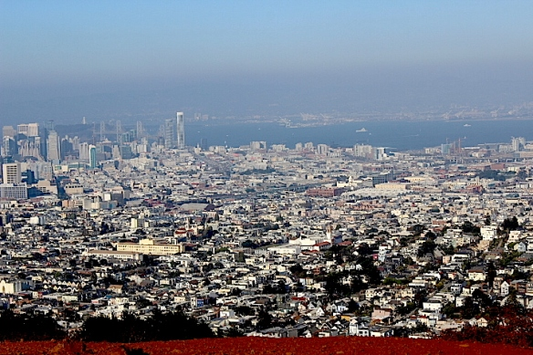 View of SF from Twin Peaks
