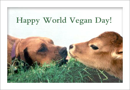 Happy-World-Vegan-Day-Dog-And-Cow-Picture