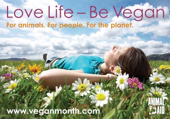 Vegan Month A2 Poster
